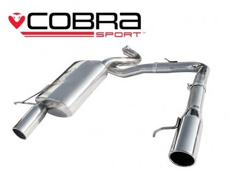 COBRA Sport Duální zadní tlumič výfuk pro BMW 318d 320d (E90)