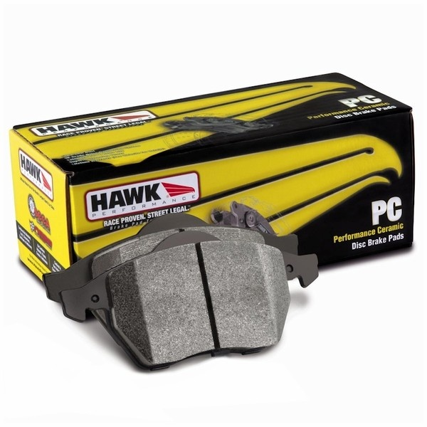 HAWK PC ZADNÍ brzdové destičky Subaru Impreza STi 01 - 08+, Mitsubishi EVO 6 - 9, Nissan 350Z