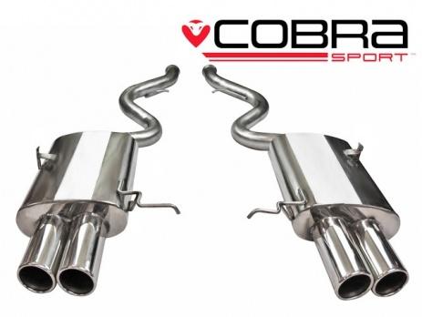 COBRA Sport zadní tlumiče výfuk pro BMW M3 E90, E92, E93