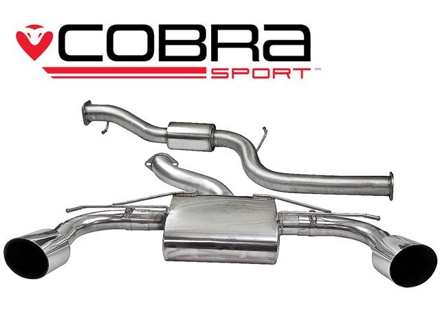 COBRA Sport Cat Back výfuk pro Ford Focus RS MK2 08-11
