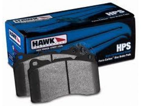 HAWK HPS PŘEDNÍ brzdové destičky SUBARU Impreza WRX 08+, Forester 2.5L X, XT, Outback, Legacy