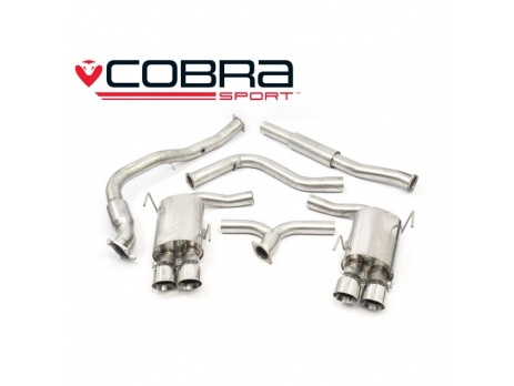COBRA Sport Turbo Back výfuk pro Subaru Impreza WRX STi 2014+ sedan (SPORT katalyzátor)