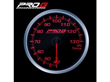 Přídavný budík Pro G Race Series RS teplota oleje ČERVENÝ 52mm