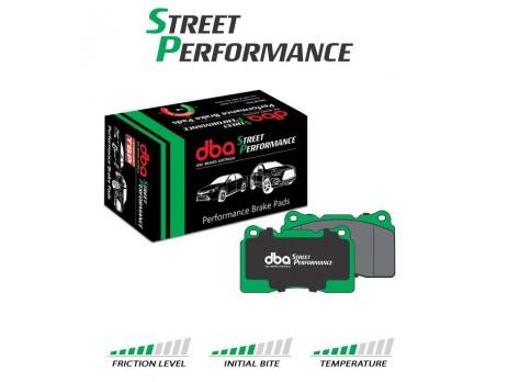 DBA SP ZADNÍ brzdové destičky Subaru Impreza WRX 08+, Forester 2.5L X, XT, Outback, Legacy, BRZ, Toyota GT86