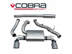COBRA Sport Turbo Back výfuk pro Ford Focus RS MK3 2015+ (bez regulace)
