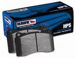 HAWK HPS ZADNÍ brzdové destičky Subaru Impreza STi 01 - 08+, Mitsubishi EVO 6,7,8,9, Nissan 350Z