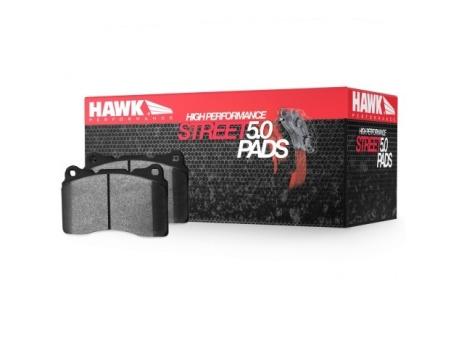HAWK HPS 5.0 PŘEDNÍ brzdové destičky Subaru Impreza STi 01-17, Mitsubishi EVO 6, 7, 8, 9, 10