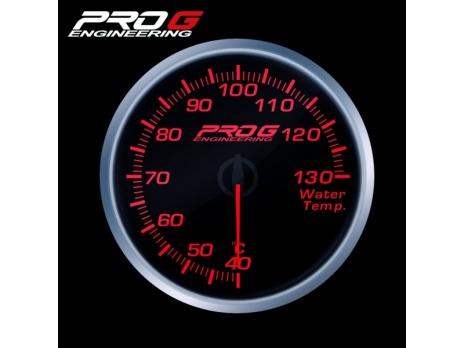 Přídavný budík Pro G Race Series RS teplota vody ČERVENÝ 52mm