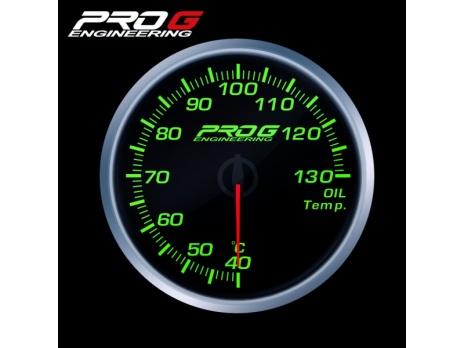 Přídavný budík Pro G Race Series RS teplota oleje ZELENÝ 52mm