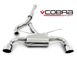COBRA Sport Cat Back výfuk pro Subaru BRZ, Toyota GT-86 2012+