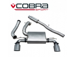 COBRA Sport Cat Back výfuk pro Ford Focus RS MK3 2015+ (bez regulace)