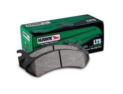 HAWK LTS PŘEDNÍ brzdové destičky pro Nissan Pathfinder R51, Navara D40 05-15