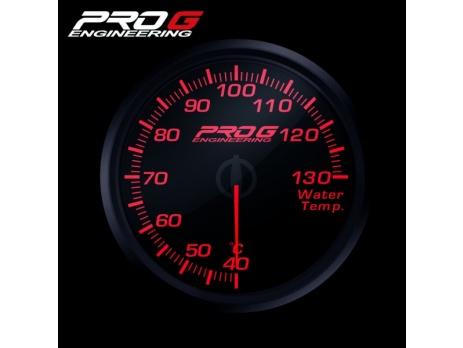 Přídavný budík Pro G Race Series RC teplota vody ČERVENÝ 52mm