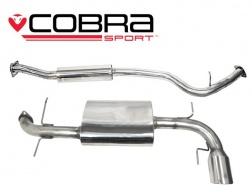COBRA Sport Cat Back výfuk pro Subaru Impreza WRX 2008-2012