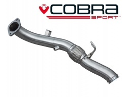COBRA Sport downpipe bez katalyzátoru pro Ford Focus RS MK3 2016>