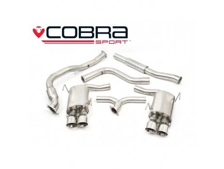 COBRA Sport Turbo Back výfuk pro Subaru Impreza WRX STi 2014+ sedan