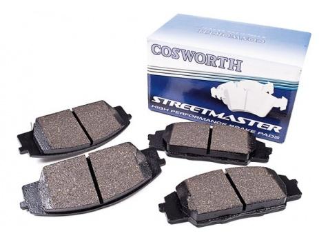COSWORTH StreetMaster ZADNÍ brzdové destičky Impreza WRX STi 02 >, Lancer EVO 6, 7, 8, 9, Nissan 350Z