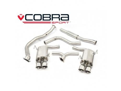 COBRA Sport Turbo Back výfuk pro Subaru Impreza WRX STi 2014+ sedan (bez katalyzátoru)