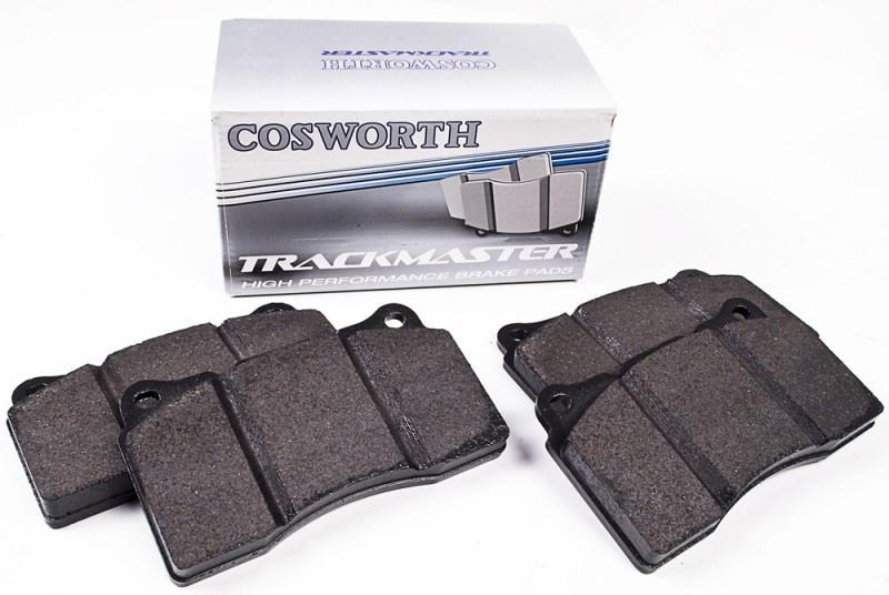 COSWORTH TrackMaster ZADNÍ brzdové destičky Impreza WRX STi 02 >, Lancer EVO 6, 7, 8, 9, Nissan 350Z