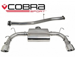 COBRA Sport Cat Back výfuk pro Mazda RX-8