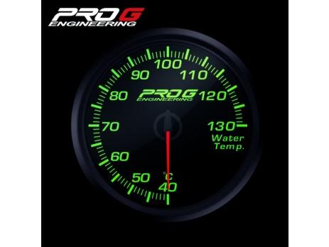 Přídavný budík Pro G Race Series RC teplota vody ZELENÝ 60mm